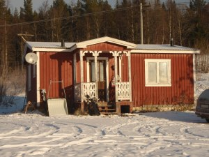 Hus i Norrbäck