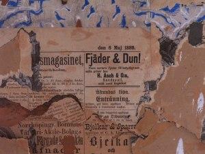 Avis som isolering. Se dato på denne Västerbottens Kuriren. Foto: Anne Wuolab,