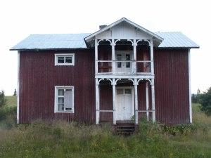Det eldste bostaden i Norrbäck. Foto: Anne Wuolab
