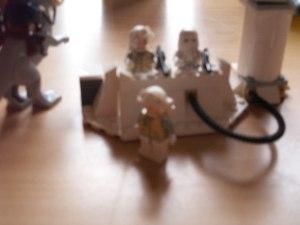 """En scene av filmen """"Lego Star Wars igjen"""". Foto og regissør: Heaika Wollberg."""