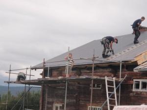 Legge takplater