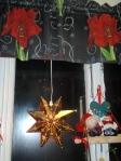 Jul i kjøkkenvinduet