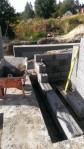 Detalje av grunnmuren.