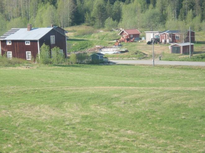 Vår gård i dag. Foto: Heaika Wollberg.