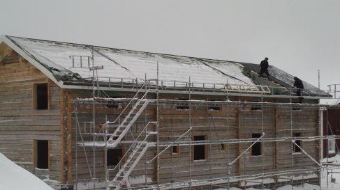 Bilde av ferdig tak på Norrbäck 1:3.