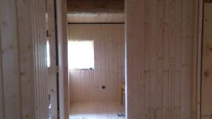 Dette er inn til toalettet i andre etasje. Foto: Per Wollberg.